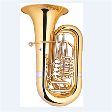 China supplier Gold lacquer Bb key tuba
