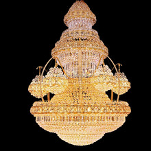 LED fancy light cascading crystal asfour egypt chandelier 63025