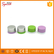 Green/silver/pink Color Aluminum Screw Cap with Plastic Inner Ring for Sparkling and Nonsparkling Mineral Water