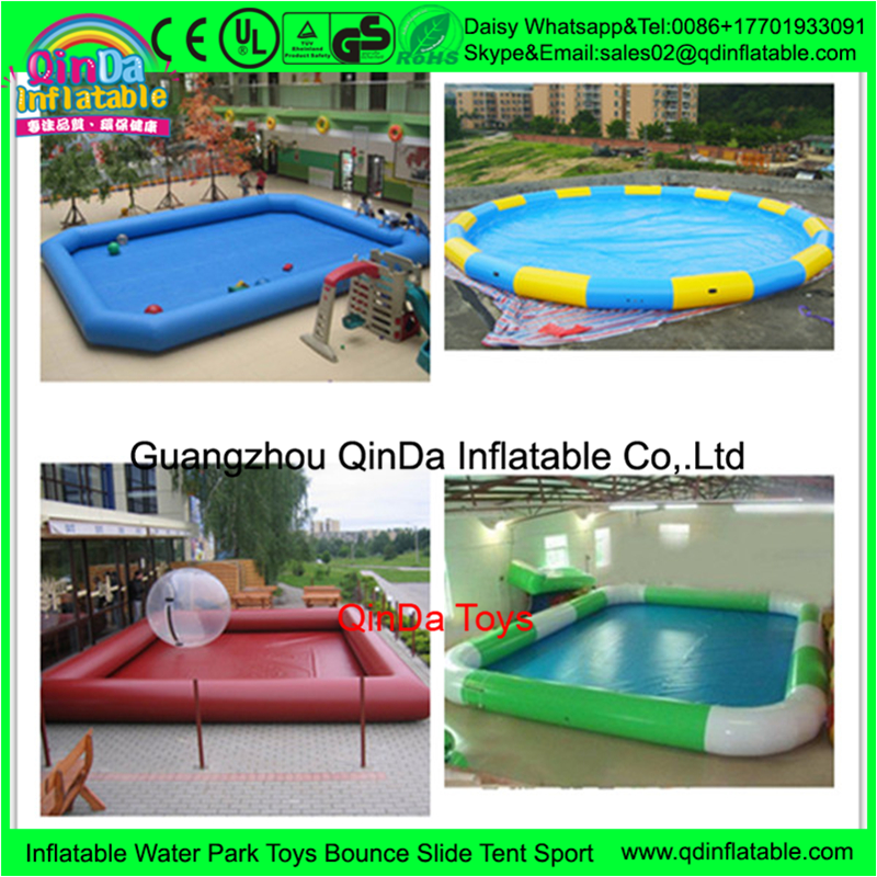 2016 New Design Gaint inflatable pool rental, inflatable floating pool