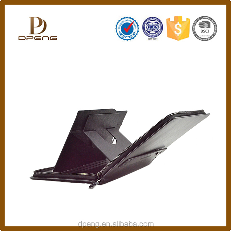 2015 Fashional Premium genuine leather Intelligent dormancy holster for ipad air/ 5