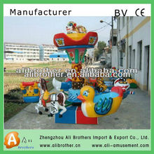 2013 new brand! kids games amusement Rotation Carousels mini carousel for boys and girls