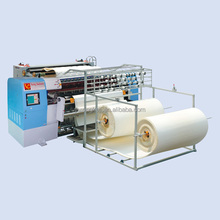 China manufacturer industrial computerized chain stitch multi needle mattress cover quilting machines
