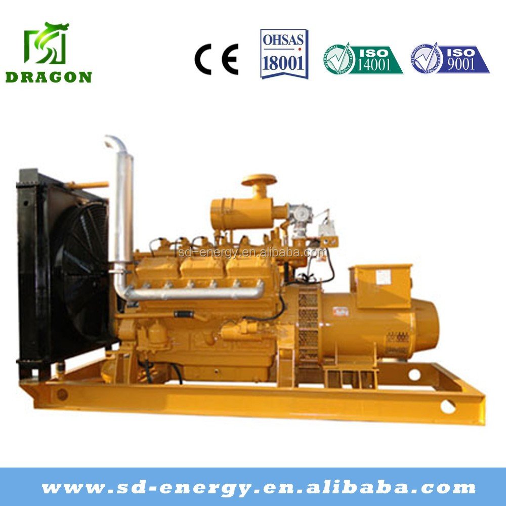 Generating equipment water cooled for 120kw biogas soundproof generator set