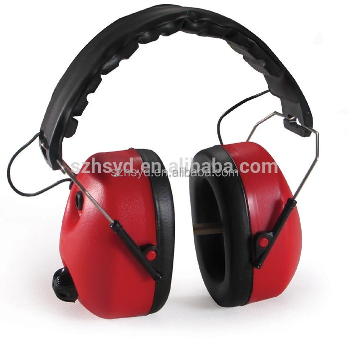 EN 352 Approval Electronic earmuffs for sleeping sound proof ear muff