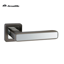 aluminum alloy graphite/chrome door handle