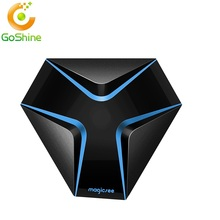 2017 New Arrived Magicsee Iron Android 6.0 TV Box Amlogic S905x DDR3 2G + 16G Wifi Smart TV Box 17.0 Set Top Box