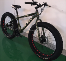 26 inch aluminum alloy snow fat mountain bike 21speed in Bicycle