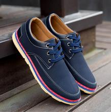 zm41240a men's comfortable fashion pu leather dress business casual shoes