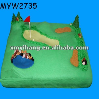 artificial cake golf gifts resin gift birthday cakes artificial food