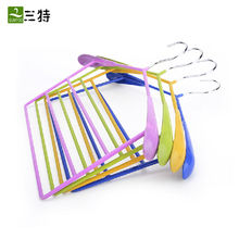30cm 4 colors vinyl coating suit pvc towel hanger