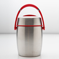 Vacuum Food Carrier Red/Black Handle,Electric Lunch Box