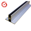 Apartment house tile aluminum expansion joint profile for concrete