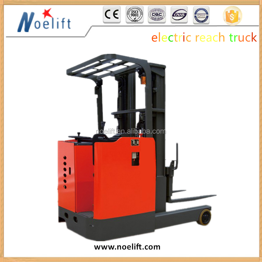 Easy-rolling Scissor Lift Forklift Double Deep Electirc Reach Truck 1.8ton
