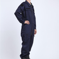 Machinery Uniform Safety Coverall FR Cotton