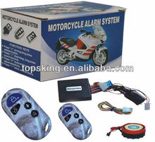 With small box alarm system motorcycle