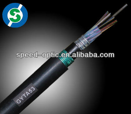 GYTA53 G652D underground duct high quality outdoor cable g652 optic fiber