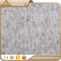 Popular Mini Brick Splitface Mosaic Tile Wall Facing Stone