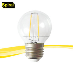 2016 led filament bulb g45 cheapest price white daylight/ warmlight