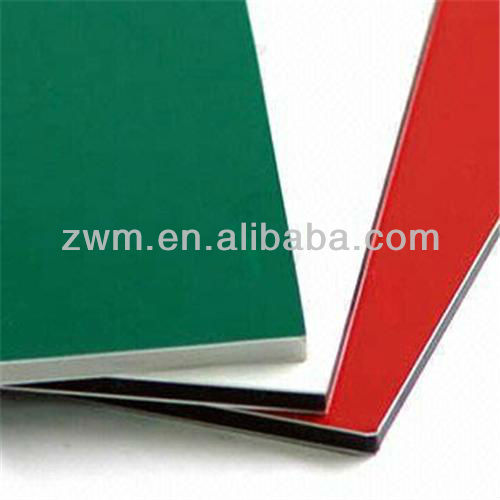 acp wall cladding sheet Construction Material for USA market