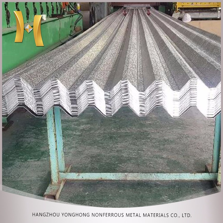 5052 Aluminum mill finished or Color Coated flat or Corrugated Roof Sheet price