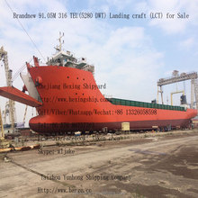 91.05M 316 TEU(5280 DWT) container Landing craft (LCT) for Sale