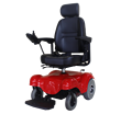 105FL active folding electric wheelchair and motor