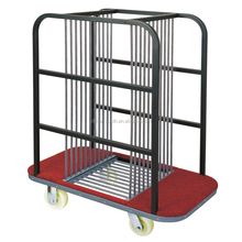 Mobile glass turntable collection carrying trolleys/hand tool carts for hotel