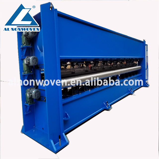 Nonwoven fabric high speed needle punching machine for carpet
