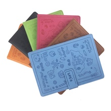 OEM Cartoon Printing Soft Leather Cover 25K 64K 120 sheets 70g <strong>Paper</strong> Lined Premium Notebook for Office and School