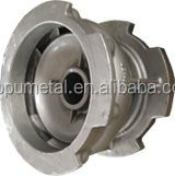 China customized casting stainless steel boat impeller centrifugal pump impeller