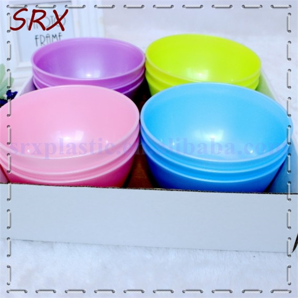 Hot sale Manufacture plastic melamine bowl,plastic colorful PP bowl, no harm and durable in use