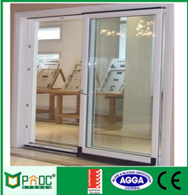 Made in China professional powder coated bullet proof aluminum security sliding door to room price PNOC0015SLD