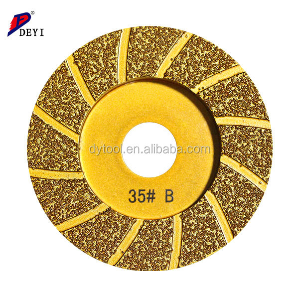 5 inch Sintered Abrasive diamond cup shape Cutting Disc for marble
