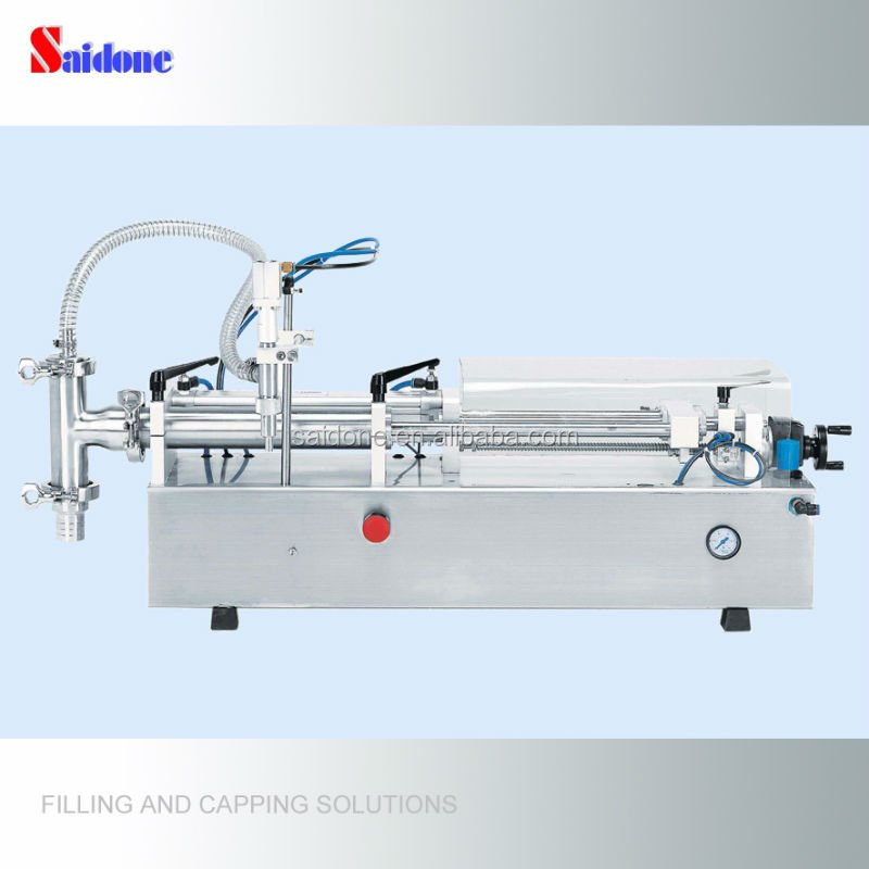 Factory price semi-automatic honey filler and packing equipment