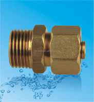 Germany standard brass male thread union/ straght male connect pex alumiunm composite pipe fittings