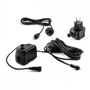 Low Voltage Fountain Submersible Water Pump With LED Lights