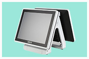 JJ-8000M 15 inches all-in-one touch screen POS systems