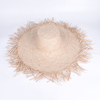 Fashion Handmade Wide Brim Raffia Straw Sun Hats For Women