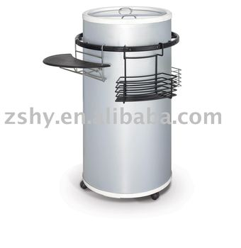 CE approved round can cooler / round shape cooler