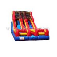 inflatable slide commercial quality,inflatable double lane slide for rental/hire business G4078