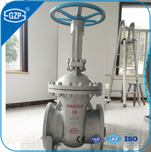 Fast Delivery ANSI JIS GOST DIN Standard Casting steel DN100 DN150 DN300 Gate Valve with Price