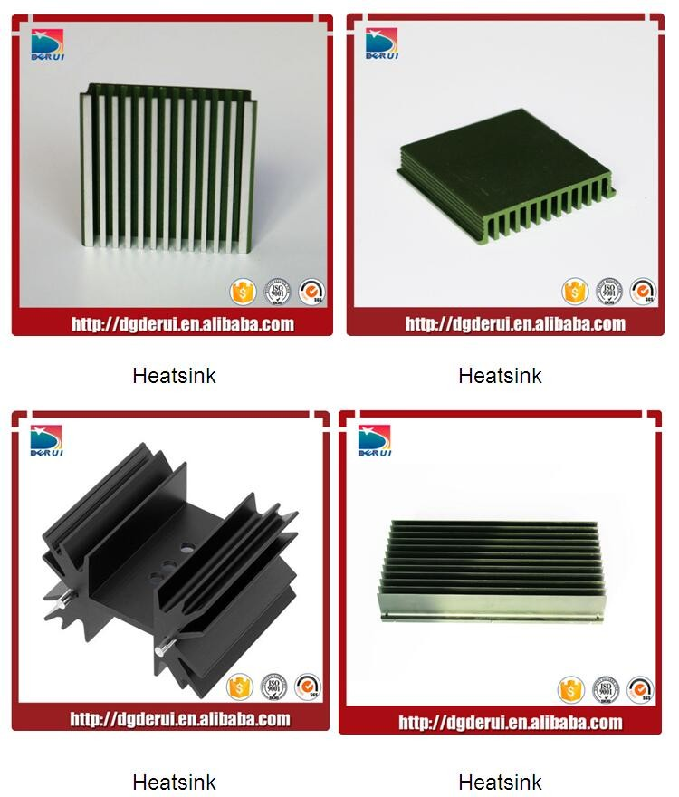 anodizing aluminum Precision heat sink hot sale 2016
