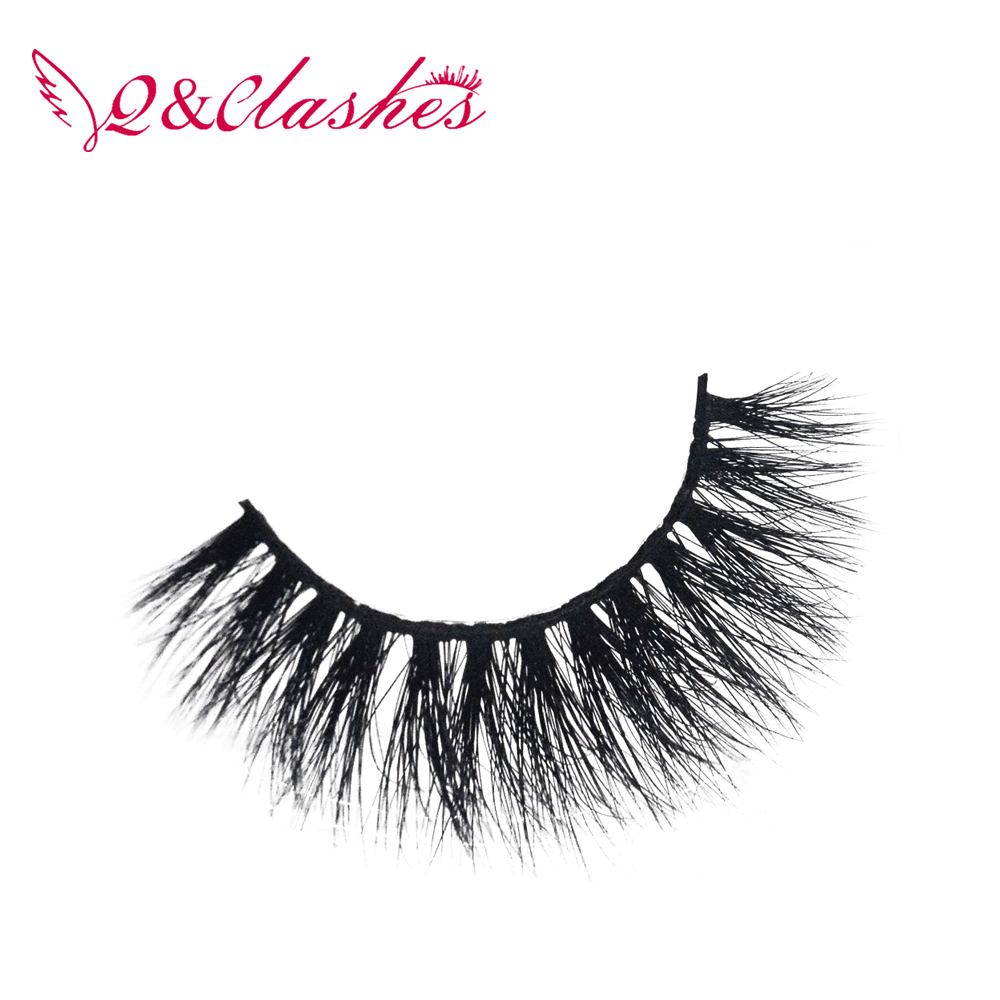 Black Long Thick Soft Reusable False Eyelashes Fake Eye Lash for Makeup Cosmetic