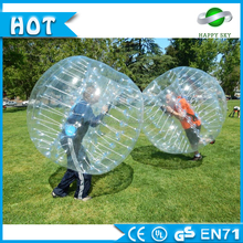 2016 inflatable toys buddy bumper ball for kids with Class A 0.8mm TPU