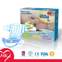 OEM high quality Double layers absorbent core kao merries diaper japan quality for USA,UK,Canada etc developed market