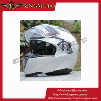 Flip up helmets with double visor American safety helmet