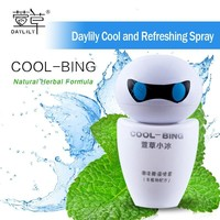 Daylily car cooling spray - hot sale of ice body spray for mens