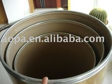 Customized Paper Drum Or Barrel with wooden lids
