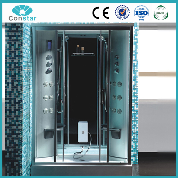 Steam Rooms Type and With Frame Frame Style factory temper fashional glass steam comfortable massage popular shower box